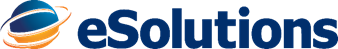 Logo of eSolutions, a leading healthcare technology company.
